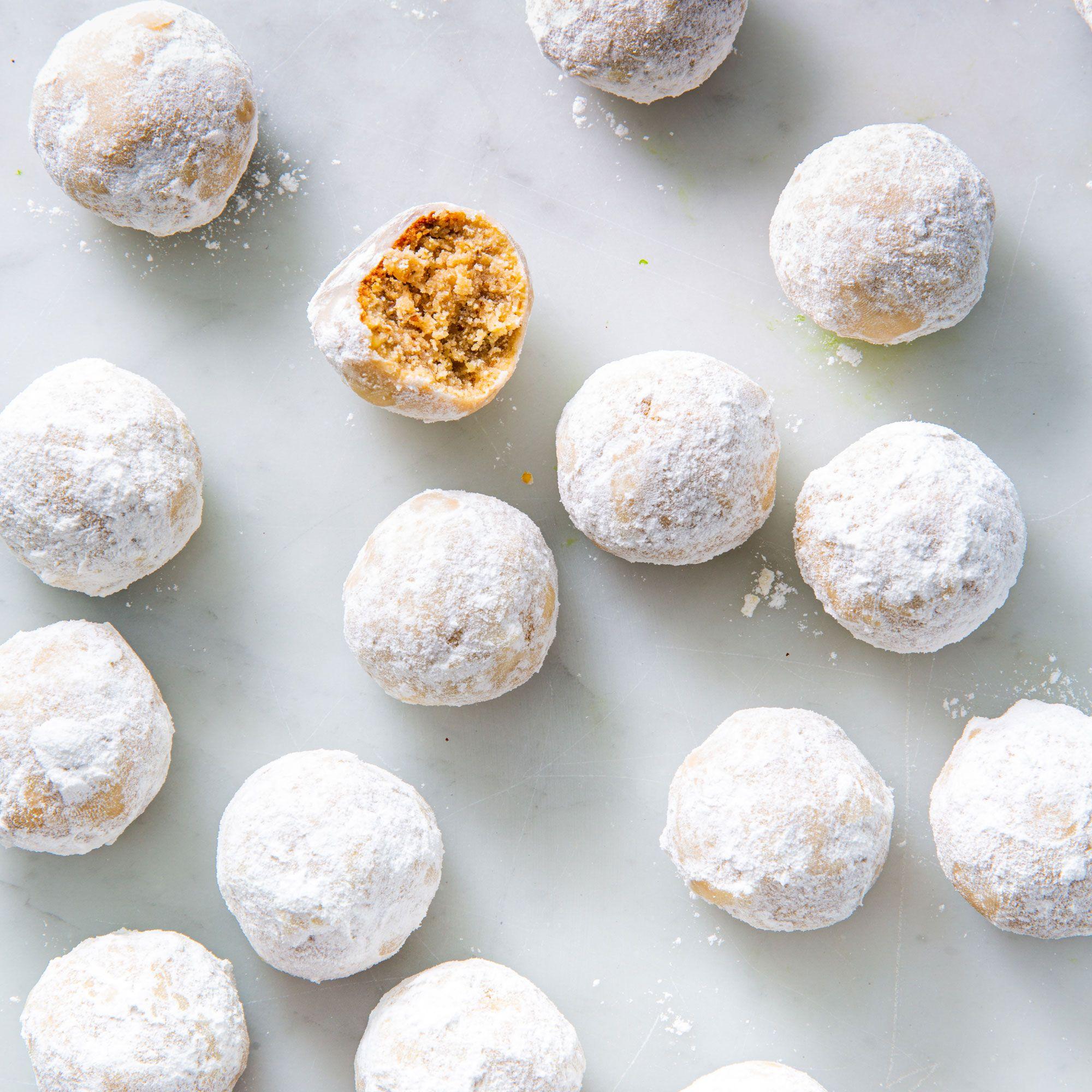 Thank you for voting for Matt and Megha's Keto Walnut Snowballs!