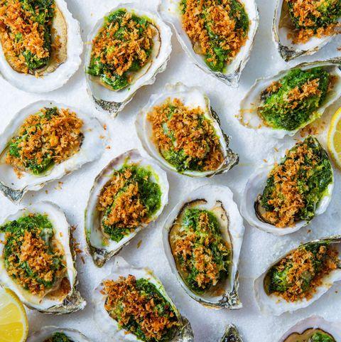 Oysters Rockefeller - Delish.com