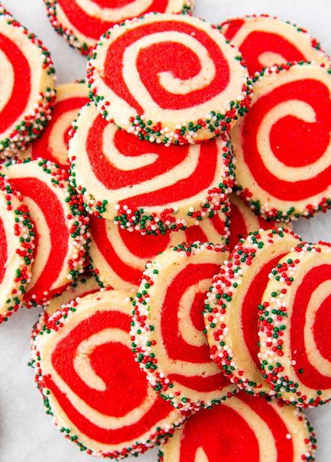 Christmas Pinwheel Cookies - Delish.com