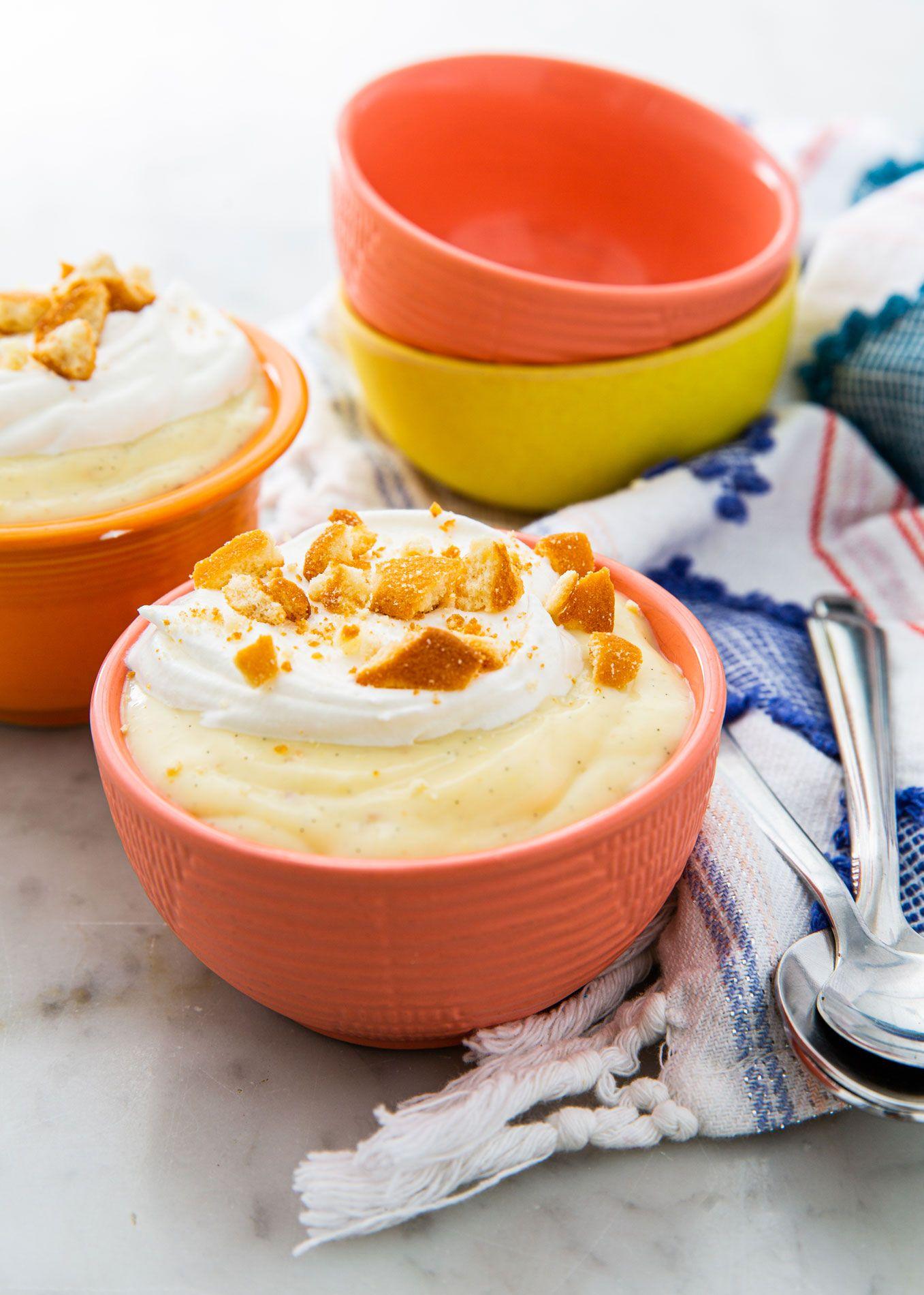 Perfect Vanilla Pudding