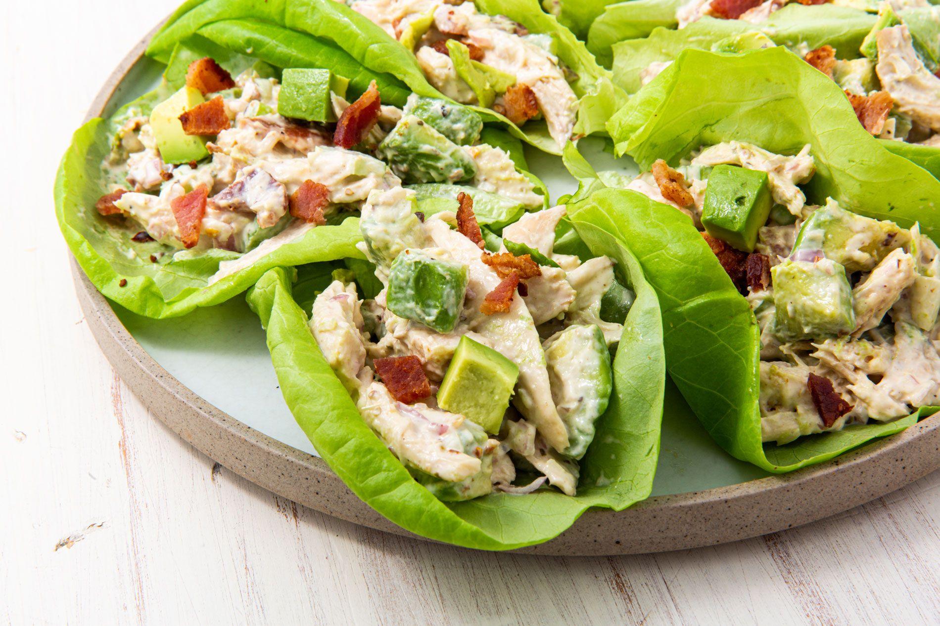 chicken salad ik for keto diet