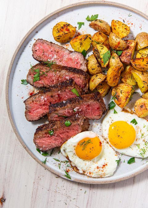 Steak & Eggs - Delish.com