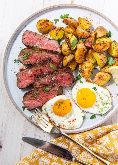 Steak & Eggs - Delish.com
