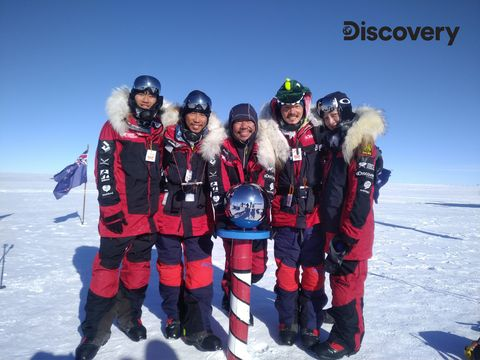 Team, Fun, Ice, Crew, Youth, Winter, Personal protective equipment, Recreation, Freezing, Dry suit,