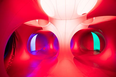 展覽,推薦,空氣建築,中正紀念堂,光影幻境,魔幻