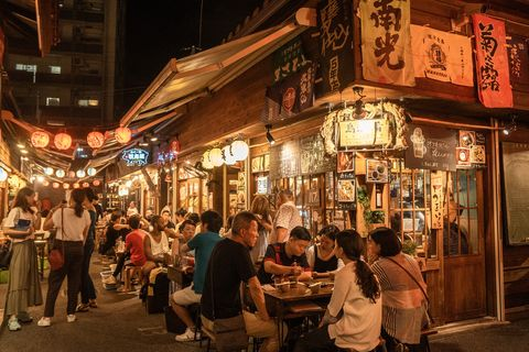 廣島旅遊的在地體驗,造訪日本屋台夜市