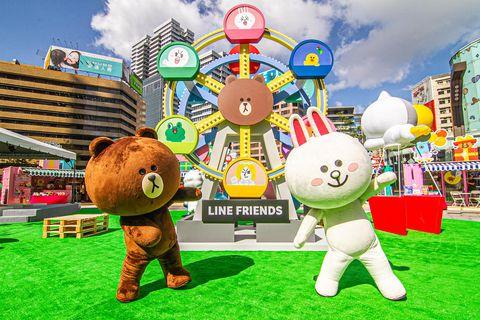 2020冬季全台最「萌」line friends carniva