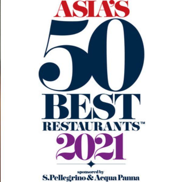 2021亞洲50大最佳餐廳「台灣5家」上榜新高!mume名次上升至第15名、logy首次進榜創佳績