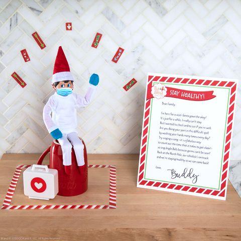 elf on the shelf quarantine ideas