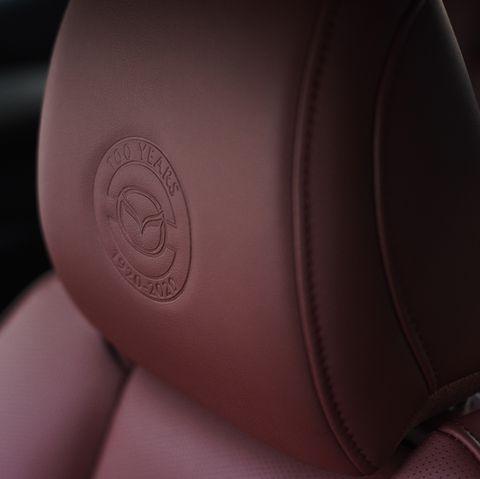 Mazda 100th anniversary badge