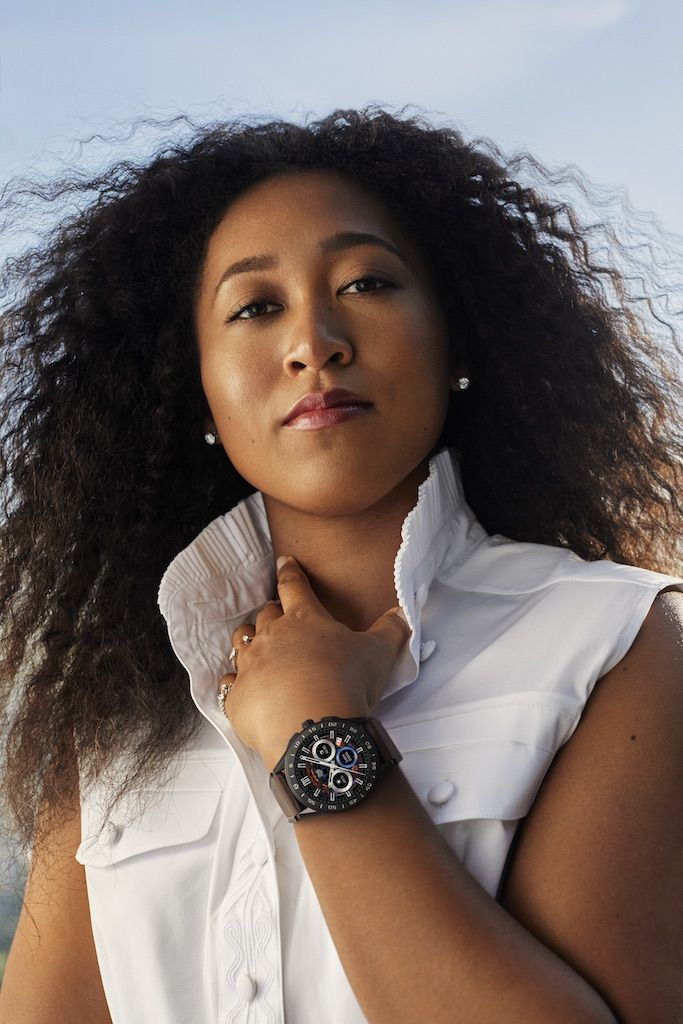 Naomi Osaka Continues Her Off-Court Fashion Dominance as the New Global Ambassador for TAG Heuer