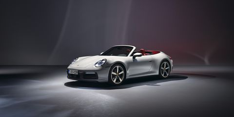 Photos of the 2020 Porsche 911 Carrera and 911 Carrera Cabriolet