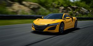 2020 Acura NSX driving