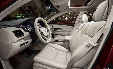 2020 Acura RLX interior