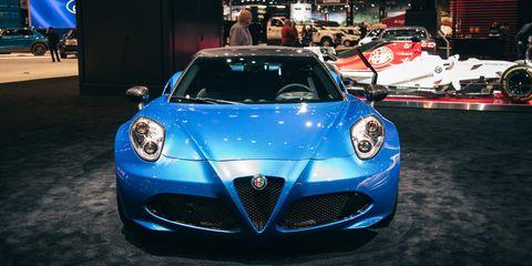 2020 Alfa Romeo 4C Spider Italia