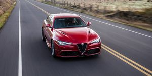 2020 Alfa Romeo Giulia Quadrifoglio front