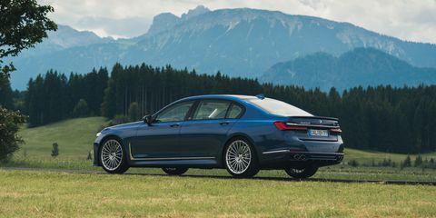 View Photos of the 2020 BMW Alpina B7 Sedan