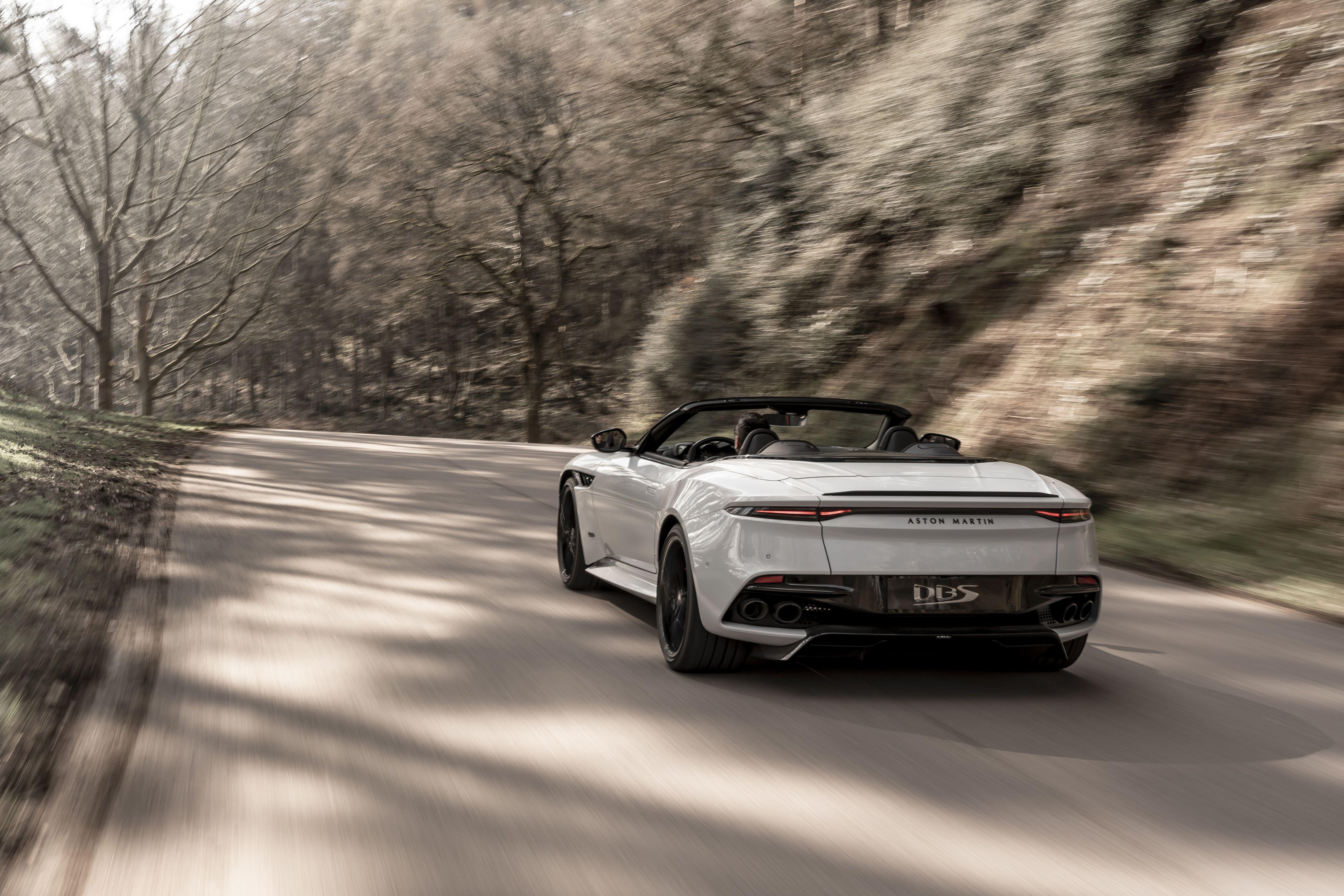 2020 Aston Martin Dbs Superleggera Volante 211 Mph Gt Convertible