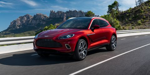 Aston Martin DBX Is an SUV Aiming to Be a True Aston