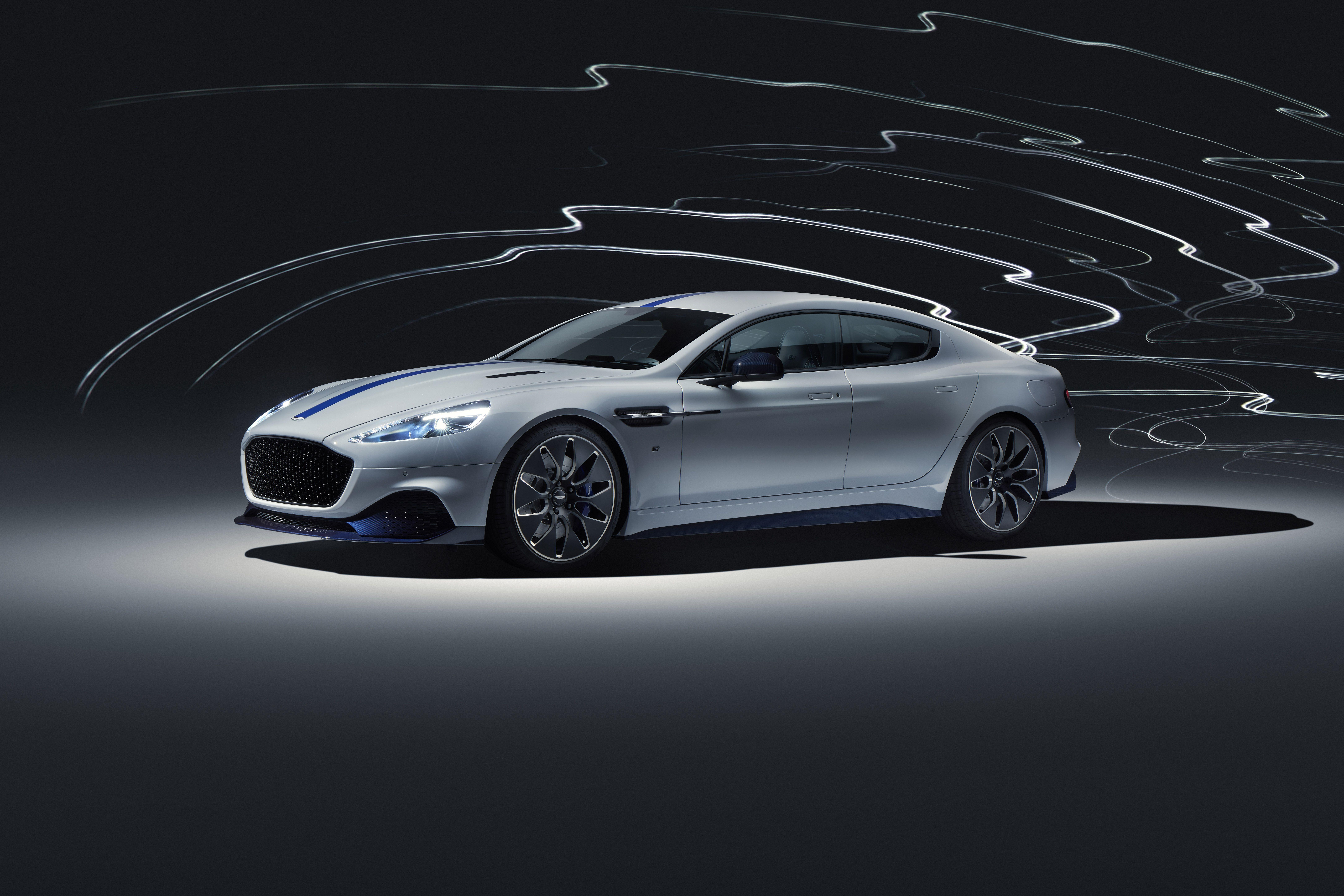 2020 Aston Martin Rapide E 600 Hp Electric Production Sedan