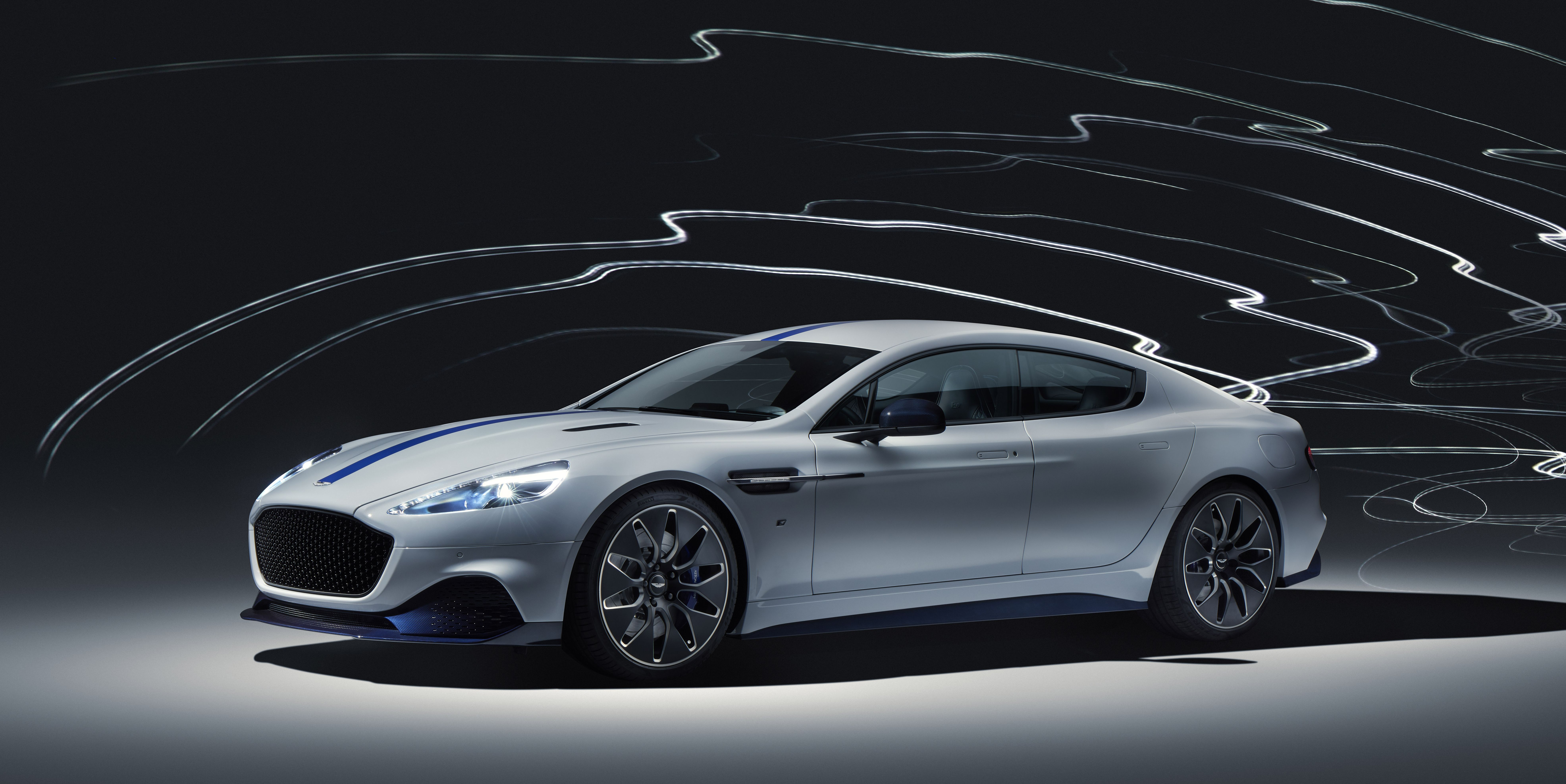 The 2020 Aston Martin Rapide E Is Aston's First Electric Production Car
