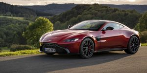 2020 Aston Martin Vantage AMR front
