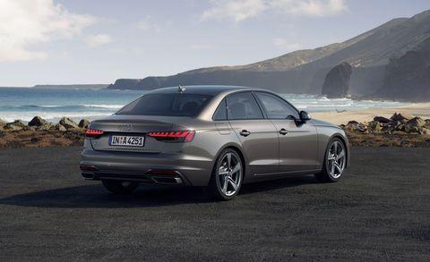 2020 audi a4 sedan rear