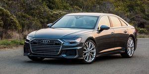 2020 Audi A6 front
