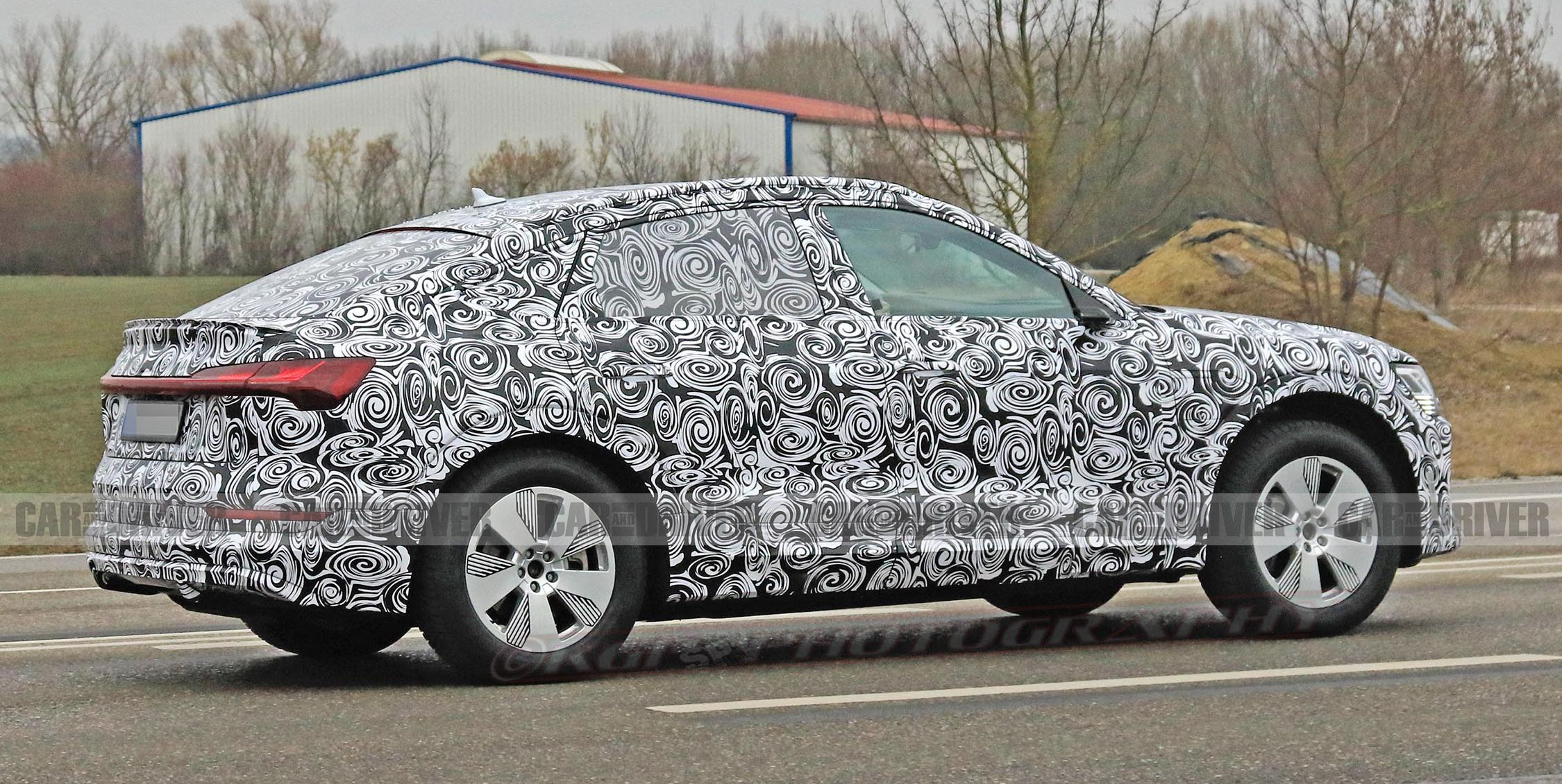 The 2020 Audi e-tron Sportback Will Be a Sillier, Sportier EV Crossover