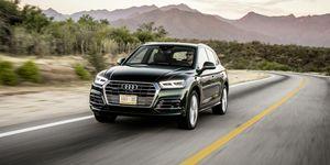 2020 Audi Q5 driving