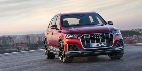 2020 Audi Q7 Update Facelift For The Three Row Suv
