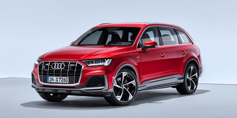 Audi Suv Models >> 2020 Audi Q7 Gets New V 6 For America Four Cylinder Coming