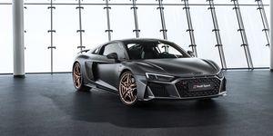 2020 Audi R8 Decennium front