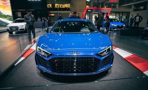 Land vehicle, Vehicle, Car, Auto show, Automotive design, Motor vehicle, Sports car, Audi, Performance car, Supercar,