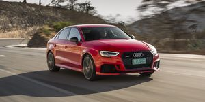 2020 Audi RS3 front