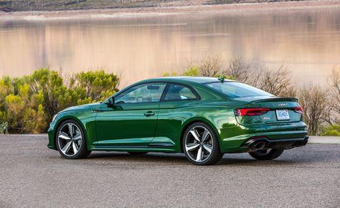2020 Audi RS5 rear