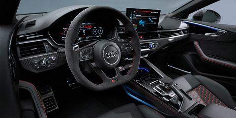 2020 audi rs5 sportback interior