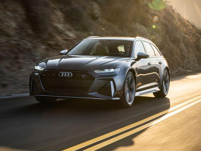 2020 Audi RS6 Avant front