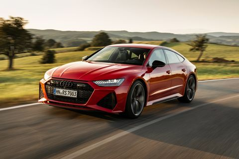 2020 Audi RS7 Enthralls with Dynamite Looks and Big Power