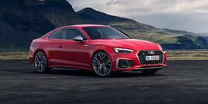 2020 Audi S5 coupe front