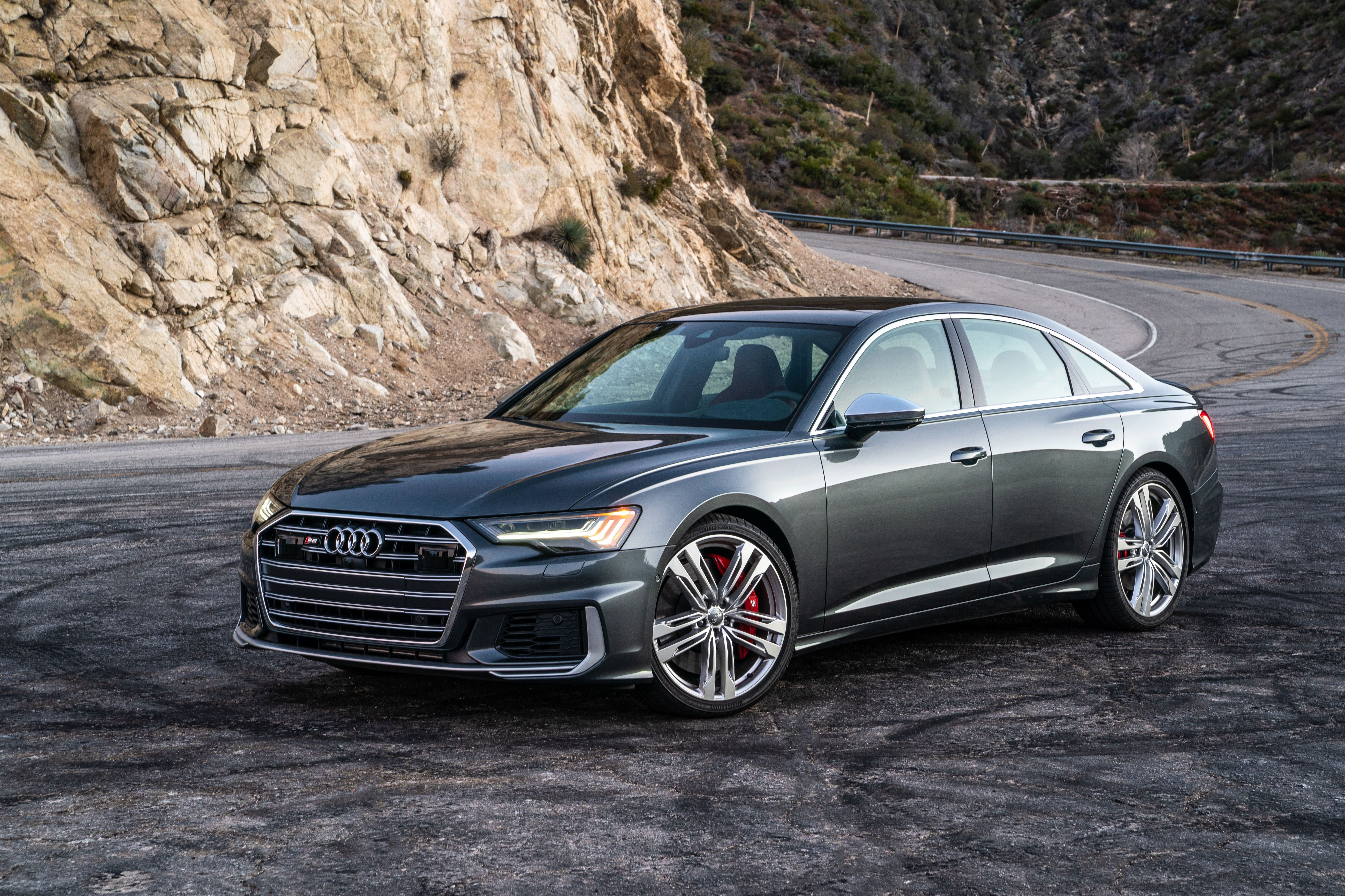 2020 Audi S6 Speed Test