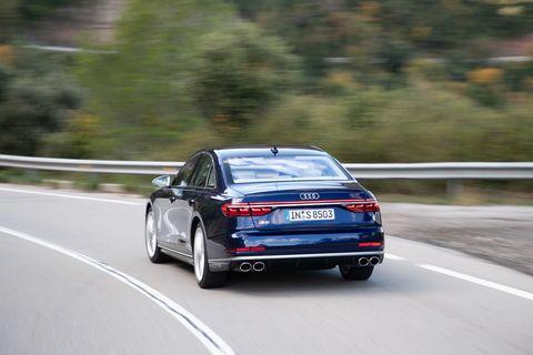 Land vehicle, Vehicle, Car, Regularity rally, Automotive design, Luxury vehicle, Mid-size car, Family car, Audi, Personal luxury car,