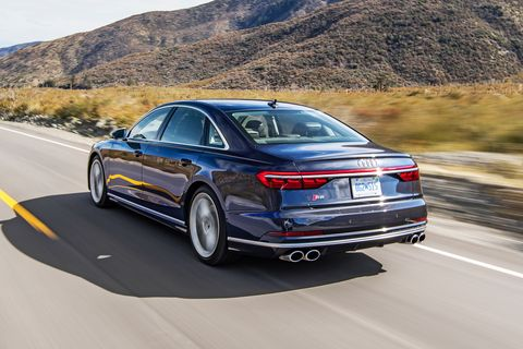 Tested 2020 Audi S8 Issues An Executive Order For Speed
