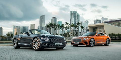 2020 Bentley Continental Gt V8 Fewer Cylinders Less Power