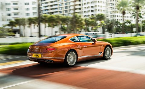 land vehicle, vehicle, car, bentley continental gt, luxury vehicle, bentley, performance car, automotive design, yellow, sports car,