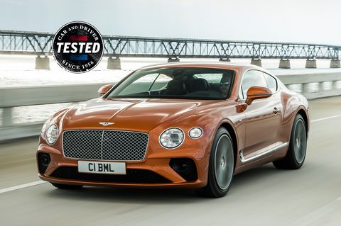 The 2020 Bentley Continental GT V8 Is an Overachieving Performer