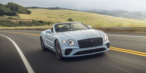 2020 Bentley Continental Gt V 8 Coupe And Convertible First Drive