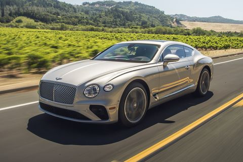 2020 Bentley Continental Gt V8 Gives Up Almost Nothing To