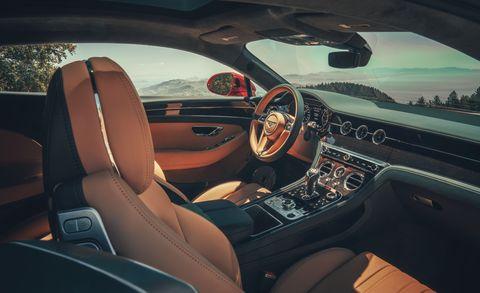 2020 Bentley Continental GT interior