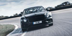 2020 Bentley Flying Spur prototype teaser